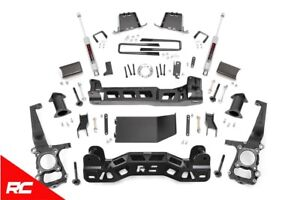 Rough Country 6 Lift Kit Fits 2011 2013 Ford F150 4wd W N3 Shocks Suspension