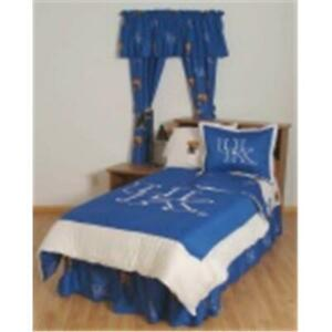 Comfy Feet Kenbbtw Kentucky Bed In A Bag Twin With Team Colored Sheets