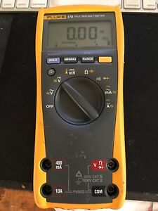 Fluke 179 True Rms Multimeter used Works Great No Leads Available