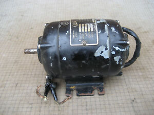 Jhon Oster Small Electric Motor Model 8 1 30hp 115v Type Es 487 Rpm 1725 599v