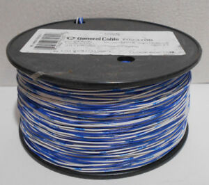 Cross connect Wire 24 Awg 1 pair Bl wh 1000 Ft Reel 7023708