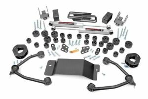 Rough Country 4 75 Body Lift Combo Kit 07 13 Chevy Silverado 1500 4wd