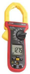 Clamp Meter 1000a 2in Cap with Thermcple Amprobe Amp 330