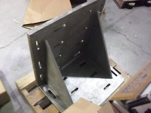 24 X 18 X 24 Slotted Angle Plate 1 Thick