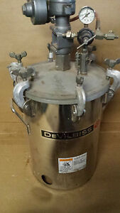 Lagrange Devilbiss Paint Pot Air Pump large