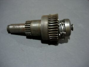 Partial Star Clutch Worm Gear Assembly South Bend Heavy 10 Lathe