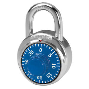 American Combination Lock Padlock A400 With Oem Control Key 875 Master Made