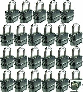 Combination Lock Set By Master 1178d lot 23 Resettable Weather Sealed Carbide