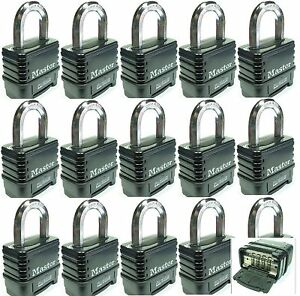 Combination Lock Set By Master 1178d lot 15 Resettable Weather Sealed Carbide