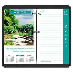 House Of Doolittle 417 Earthscapes Daily Desk Calendar Refill 3 1 2w X 6h