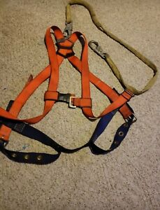 Sala Safety Harness With Miller Clip And Shock Absorbant