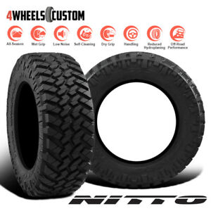 2 X New Nitto Trail Grappler M T 295 70 17 121 118p Off Road Traction Tire