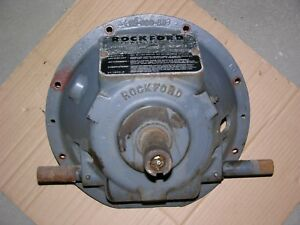 New Rockford Pta 5871 Pto Power Take off Clutch Assembly Wisconsin Vg4d Engine
