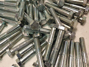Lot Of 150 Hex Bolts 1 2 13 X 3 307a Steel g5