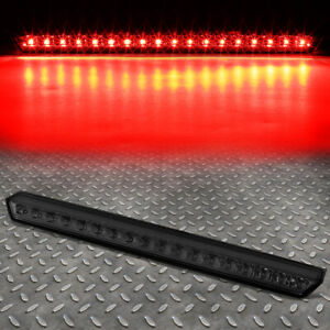For 15 17 Chevy Suburban tahoe Full Led Third 3rd Tail Brake Light lamp Smoked