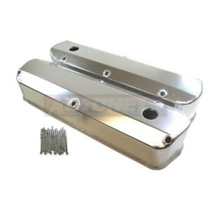 Fabricated Aluminum Sbf Ford Small Block V8 260 289 302 351w 5 0l Valve Cover