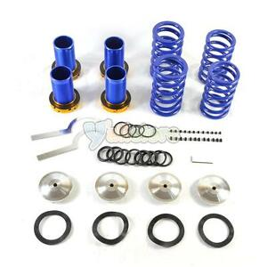 88 91 Lowering Blue Suspension Coilover Blue Spring For Honda Civic Eg Ek Dc