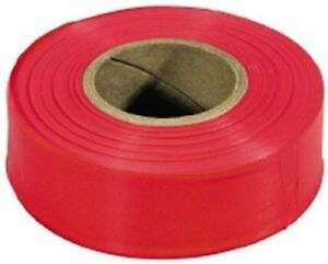 Irwin 65601 Fluorescent Red Flagging Tape 150 Feet 24 Pack