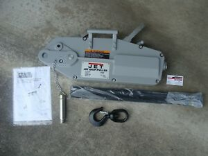 Jet 3 ton Wire Rope Grip Puller Model Jg 300a With 66 Cable