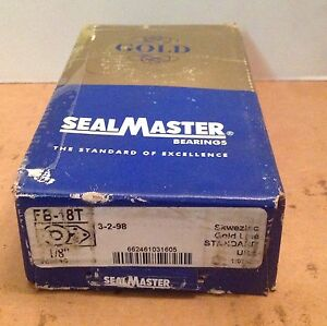 Fb18t Sealmaster New Ball Bearing Flange Unit