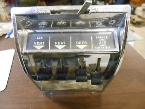 1957 Chevy Heater Control Unit