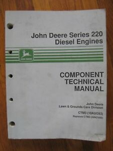 John Deere 430 455 655 670 755 770 855 870 955 970 1070 Tractor Technical Manual