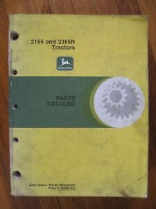 John Deere 2155 2355n Tractor Parts Catalog Manual