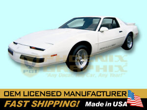 1987 1988 1989 1990 Pontiac Firebird Formula Decals Stripes Kit