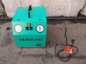 Therma Flo Oz Refrigerant Recovery System Model 4000 Works Fine