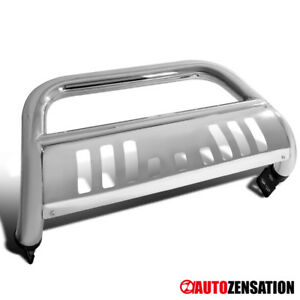 06 09 Dodge Ram 1500 2500 Pickup Chrome Stainless Steel Bumper Grille Bull Bar