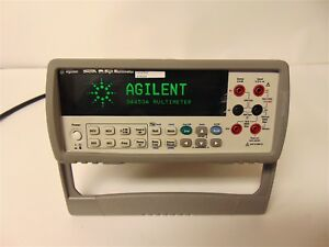 Agilent 34450a 5 1 2 Digit Multimeter With Power Cord S3664