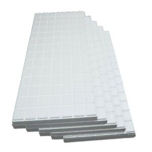 Insulation Kit Foam Board Sheets Multipurpose High Density Pads R10 5 panels