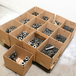 Large Lot Of 186 Collets And 290 Fingers For 60 1 New Britain Lathe