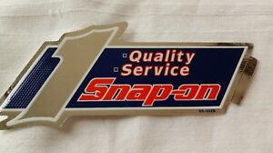 Snap On Tools Decal 7 X 3 1 Quality Service New Old Stock