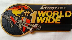 Snap On 1 World Wide Decal 9 New Old Stock Snap On Tools