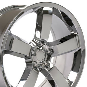 Oew 20 Rims Fit Dodge Challenger Charger Chrysler 300 Srt Chrome