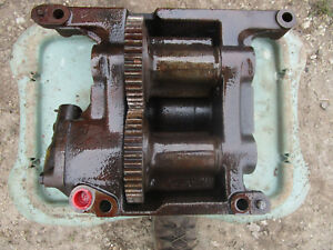 Case Engine Balancer Oil Pump 4 Cyl Diesel Tractor Part 2 Gear 730 830 770 870
