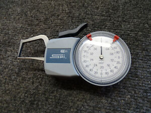 Spi Ip65 15 527 5 0 To 4 Dial Caliper Gage 0 0002 Grad