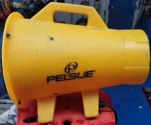 Pelsue 12v Vac 60hz 1 3 Hp Axial Ventilatorfit s 8 Blower Duct 1325p