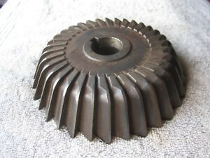 Midwestern Tool C 9342 Bowl Shaped 6 3 4 Diameter X 1 1 2 Thick Milling Cutter