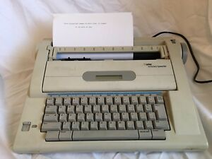 Smith corona Na3hh Display Dictionary Electronic Typewriter Word Processor Works