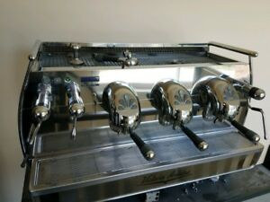 Victoria Arduino Adonis Lever 3 group Espresso Machine Stainless Steel