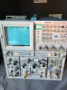 Tektronix 7854 Oscilloscope With Time Domain Reflectometer 400 Mhz Timebase