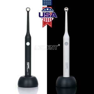 Us Black White Dental Led Curing Light Resin Cure 2300mw Woodpecker Iled Style