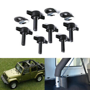 Set Of 6 Hardtop Fast Top Remove Nuts Bolts Kit For Jeep Wrangler Jk 2007 2017