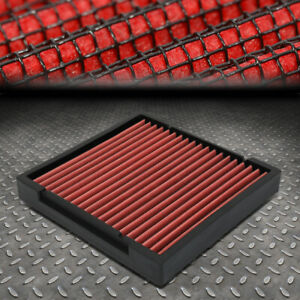 For 09 19 Honda Fit crv civic hrv insight Drop in Panel Cabin Air Filter Red