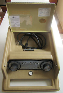Maico Model Ma 27 Ultra Portable Screening Audiometer Unit Sound Tested