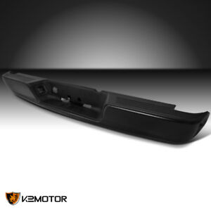 2004 2009 Dodge Ram Pickup Truck 1pc Black Rear Bumper Guard Step W 4 Brackets
