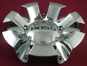 Boss Motorsports Wheels Chrome Custom Wheel Center Cap 3238 1