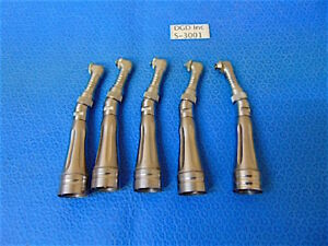 Lot Of 5 Star Dental Hand Pieces 3yh6 5l f in Good Cosmetic Condition S3001x